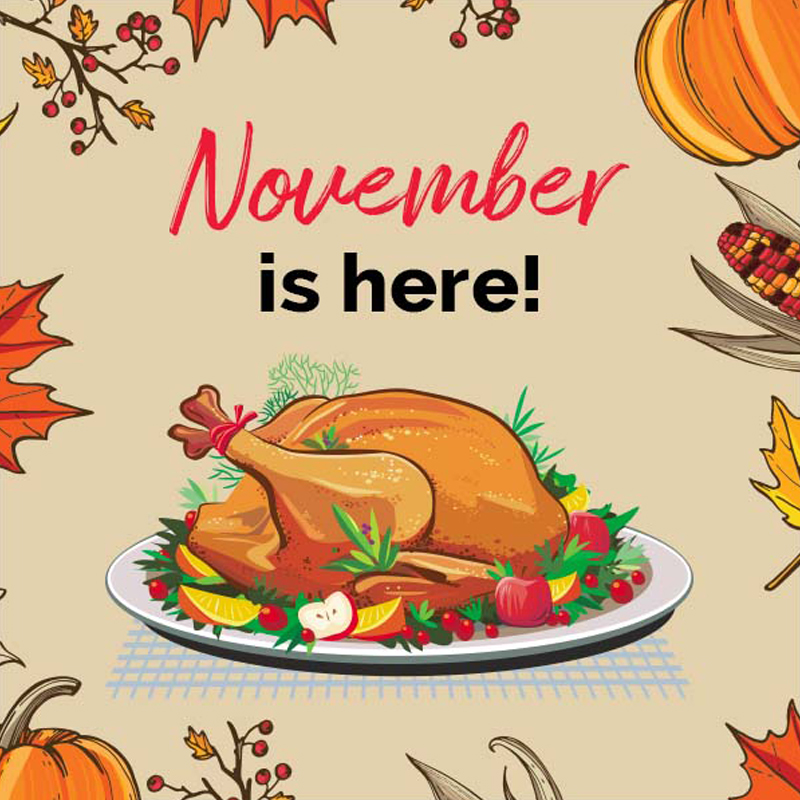 Thanksgiving (November) Post